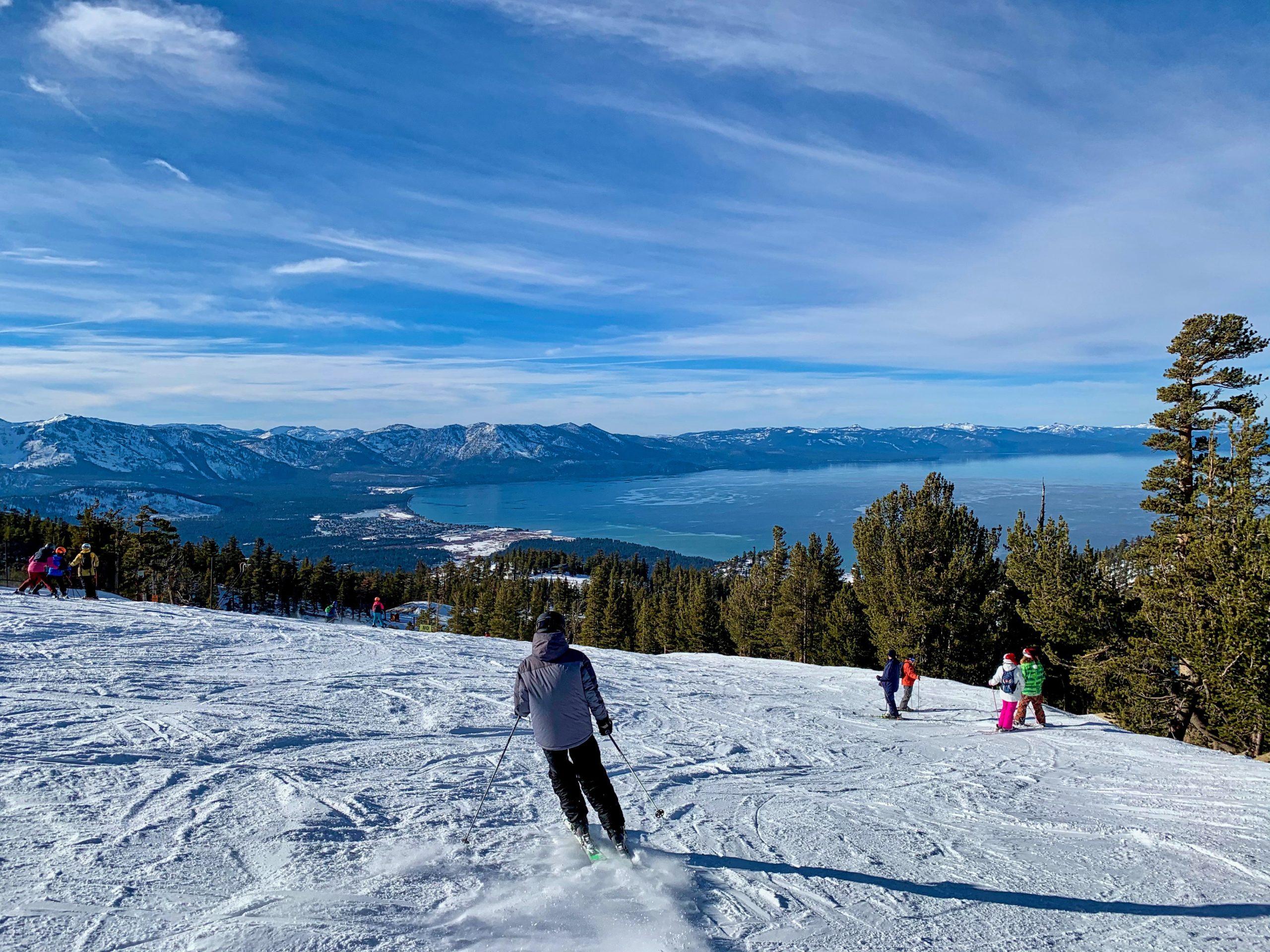Lake Tahoe Ski Day