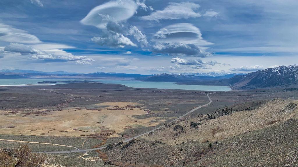 Clouds Over Mono Lake