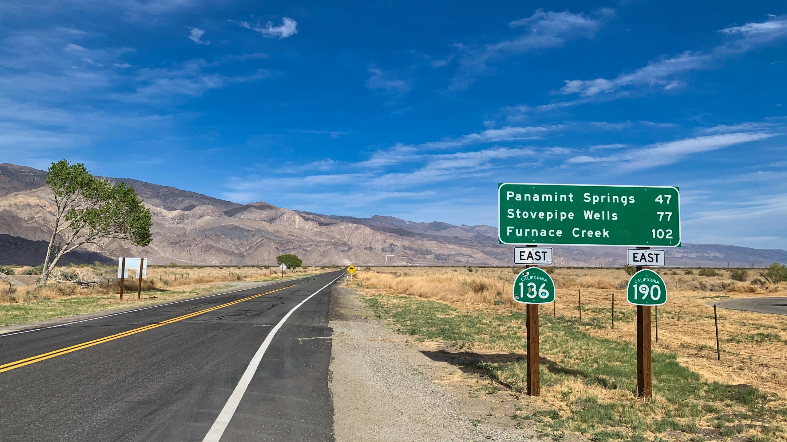 Gateway to Death Valley